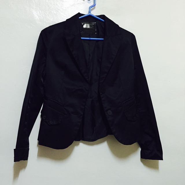 黑色西裝外套 M號