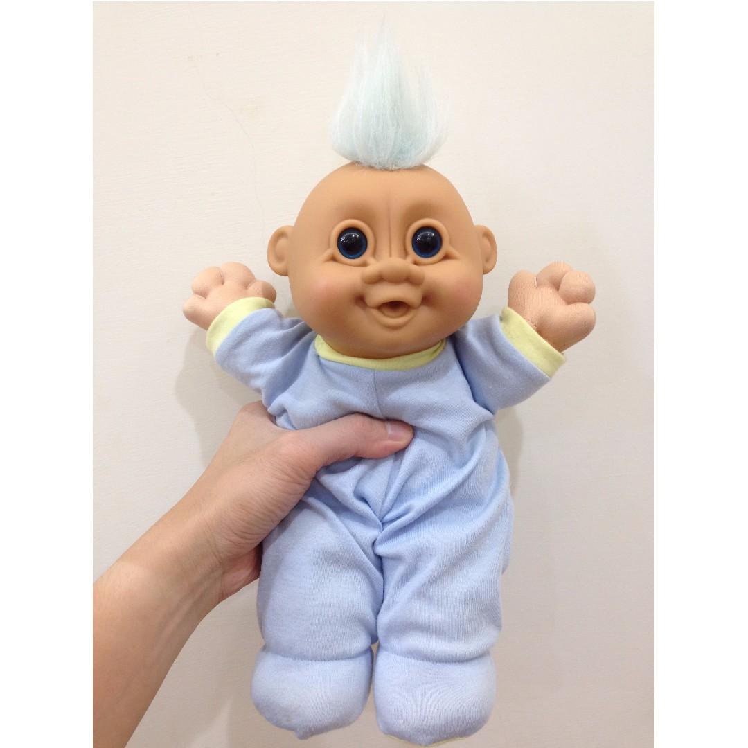 幸運小子 (一撮毛毛小萌娃)醜娃、巨魔娃娃、醜妞、Troll Doll、魔髮精靈