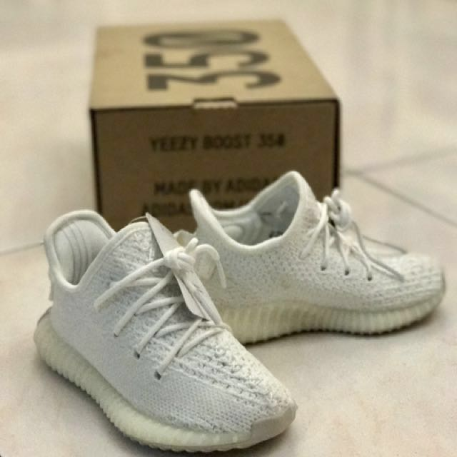 innovative design 882b0 2f69c Adidas ® Yeezy Boost 350 V2 Kids Cream White