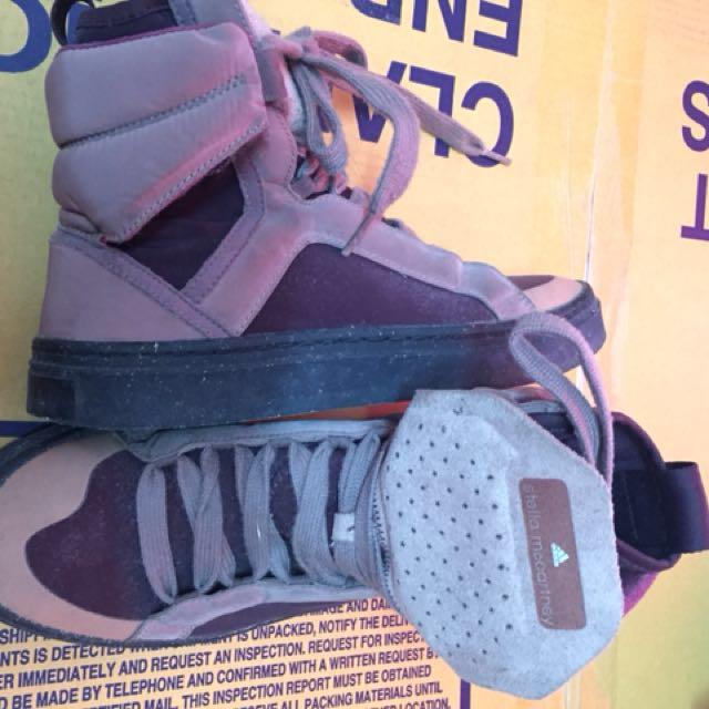 adidas da stella mccartney metà tagliato sneakers alte delle donne