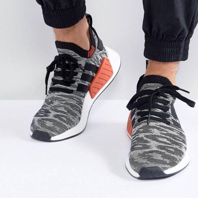 3713f681c927 Adidas NMD R2 Primeknit trainers in black
