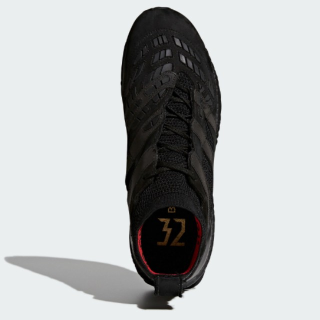 reputable site fbe5d c176e Adidas Predator Accelerator Beckham Capsule Collection Ultra Boost - Black,  Mens Fashion, Footwear on Carousell