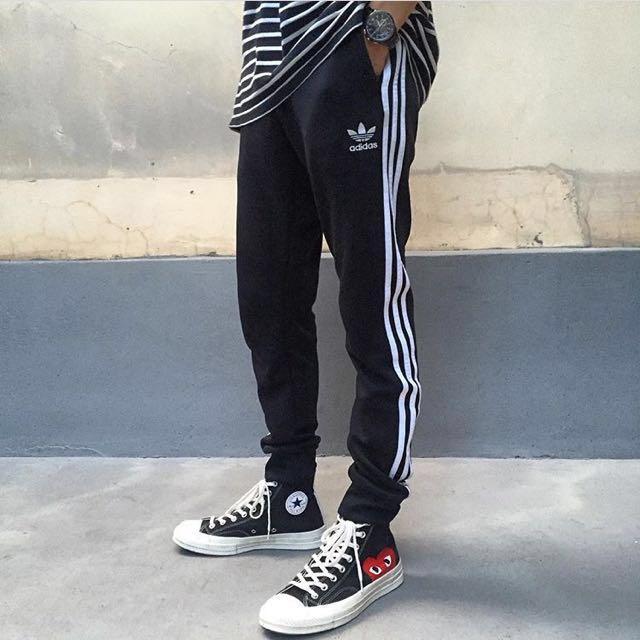 Adidas Superstar pants  縮口褲 黑