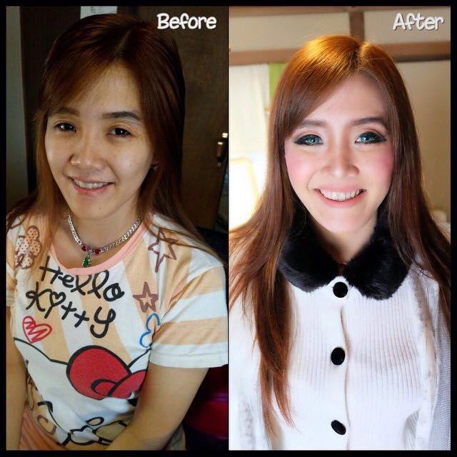 Ana livian make up artist Prawedding project