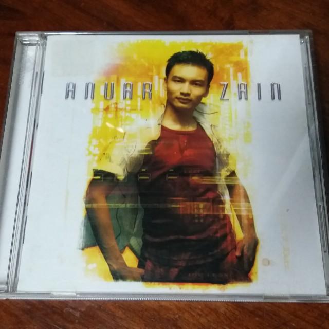 CD Anuar Zain 2nd Album