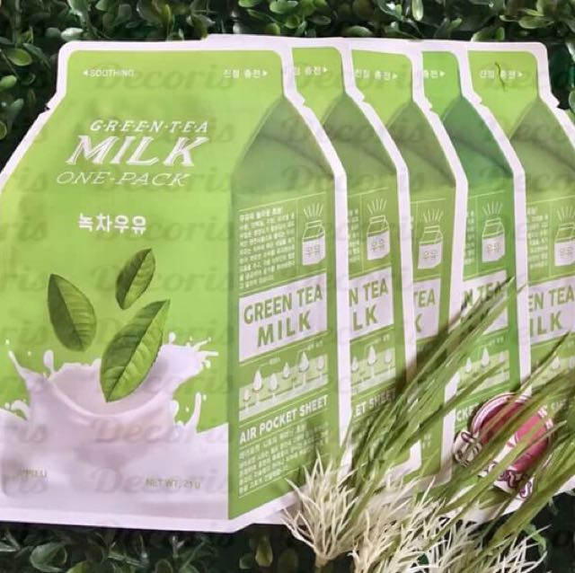 A'pieu Green Tea Milk Mask