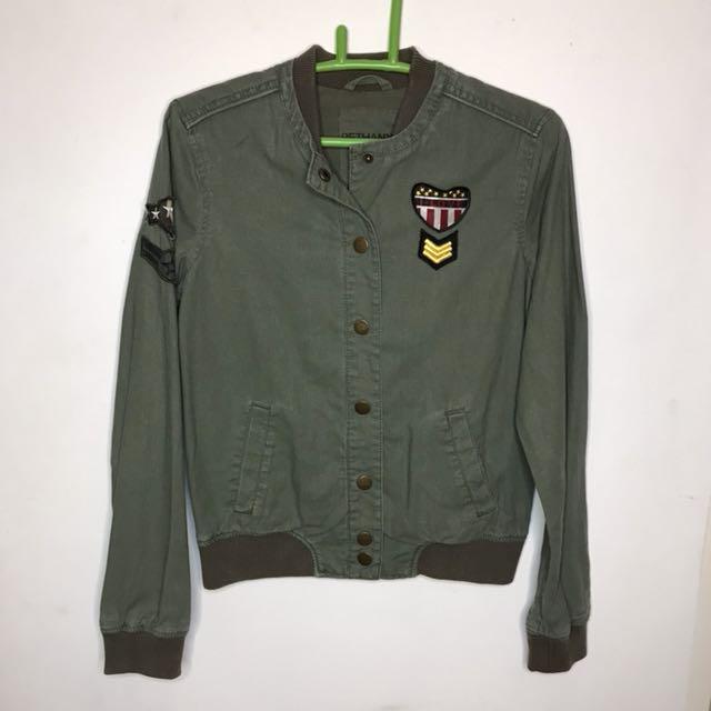 Army green jacket aeropostale
