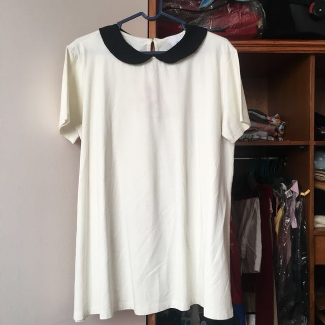 ASOS Peterpan Collar Top Maternity XL