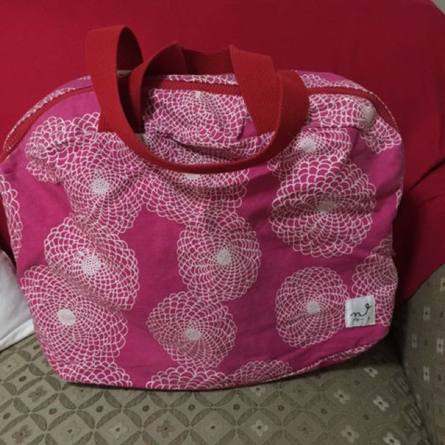 Authentic Agnes B overnight bag
