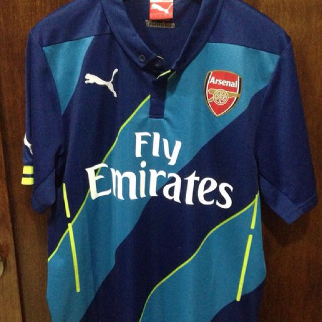 99f0934e5 Authentic Arsenal Jersey