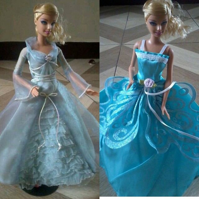 Authentic barbie w/ gown