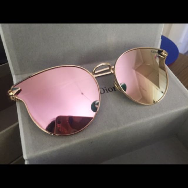 Authentic Christian Dior Mirrored Sunglasses