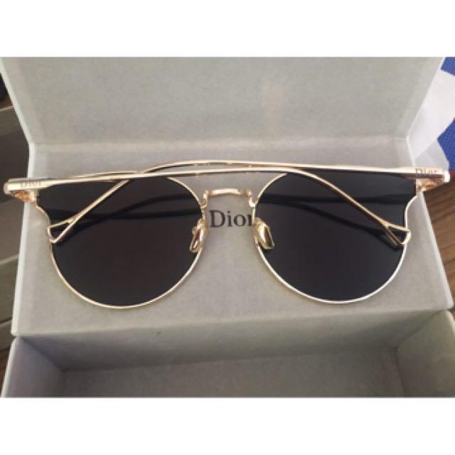 Authentic Christian Dior Mirrored Sunglasses