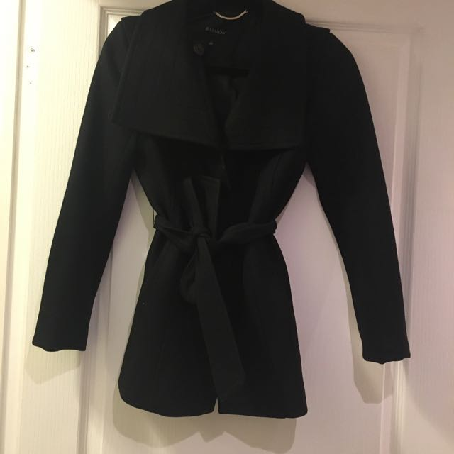 Babaton Spencer Coat - XS BLK great condition