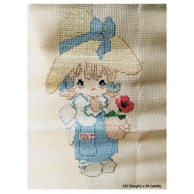 Baby Girl Cross-stitch