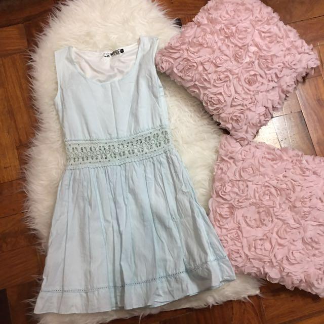 Betty Baby Blue Dress