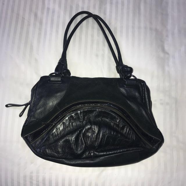 Black Mimco Shoulder Bag