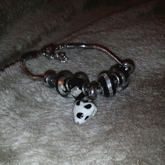 Bracelet with Love Heart Charm
