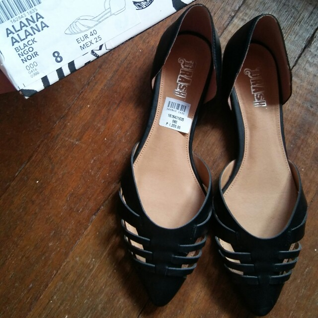 BRASH Black Flats