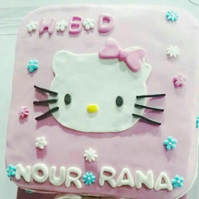 Cake Ulang Tahun Hello Kitty