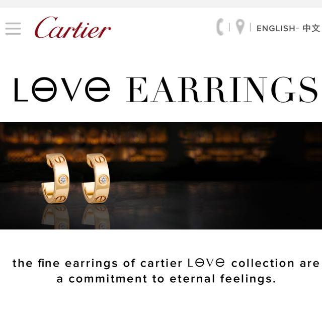 Cartier leve Earrings
