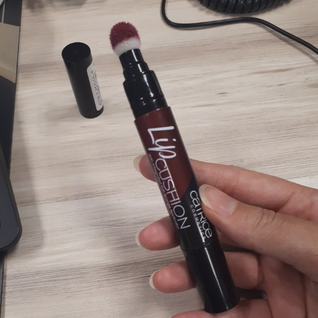 Catrice Lip Cushion shade 060 - What Happens After Midnight