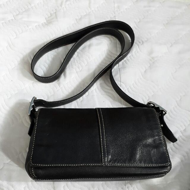 Coach Leather Sling Bag