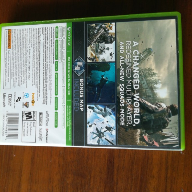 COD Ghosts Extinction DLC Downloaded
