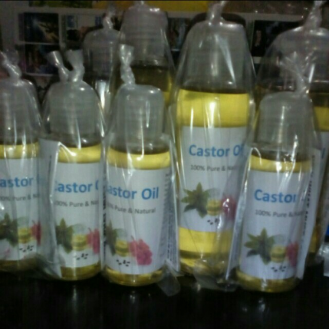 Cold Pressed Castor Oil package