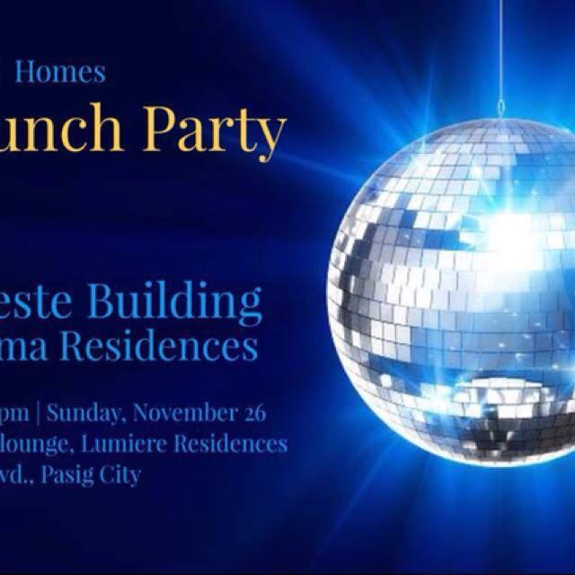 COME and JOIN US in Launch Party of Celeste Building 2nd blds of PRISMA RESIDENCES!!!