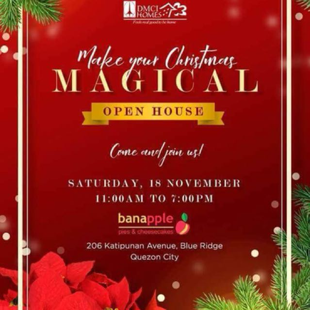 """COME AND JOIN US in our MAGICAL OPEN HOUSE of """"THE ORABELLA"""""""