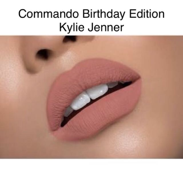 Commando - Brand New kylie Jenner Limited Edition lipkit