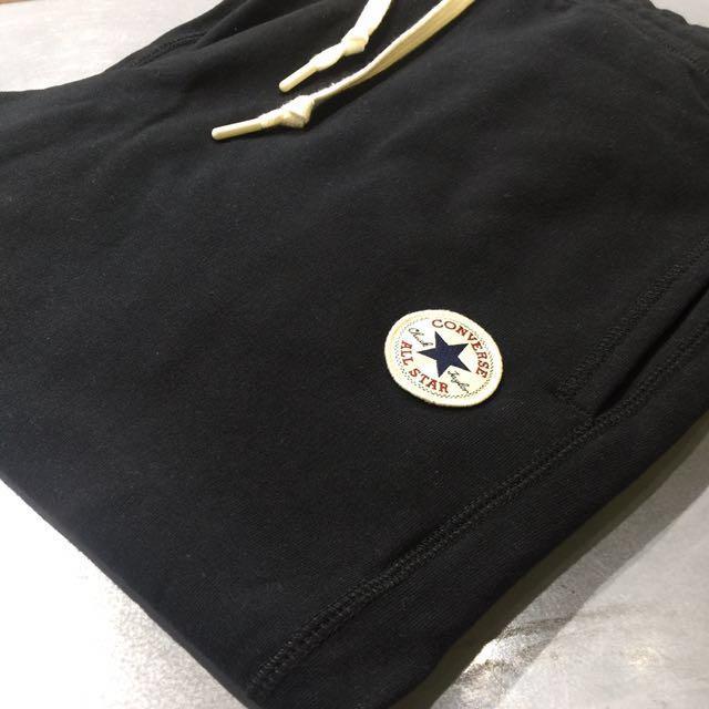 Converse 經典黑棉褲(長)