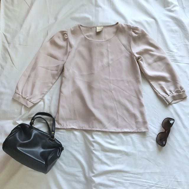 Cream Blouse / Top