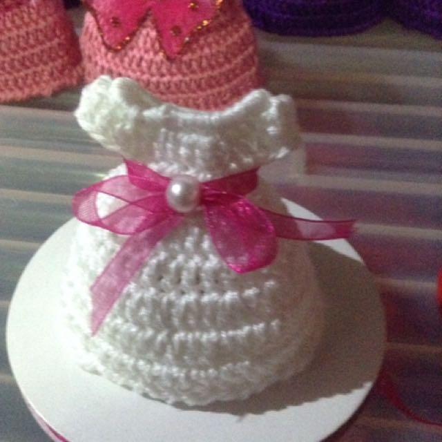 crochet souvenir for christening