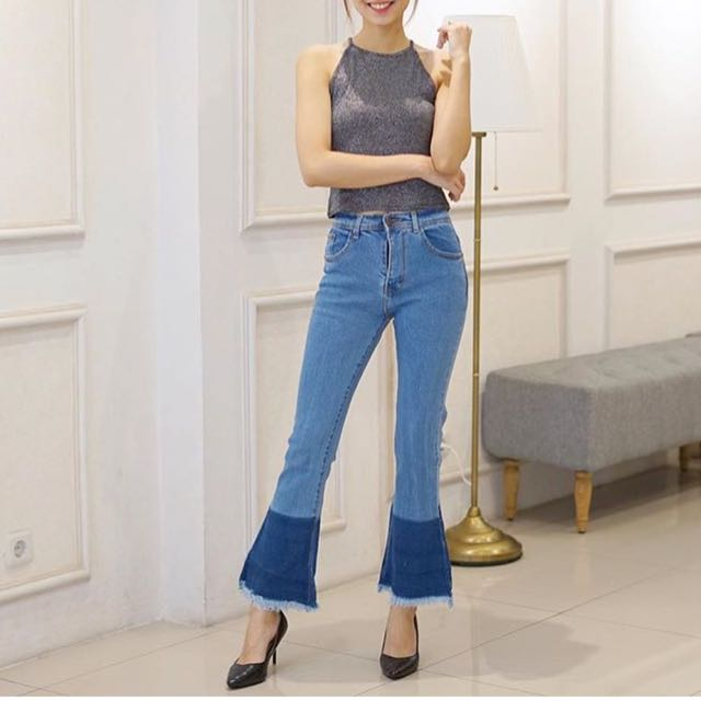 cutbray jeans wrap