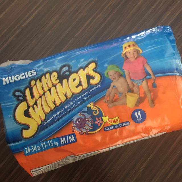 Disposable swimpants