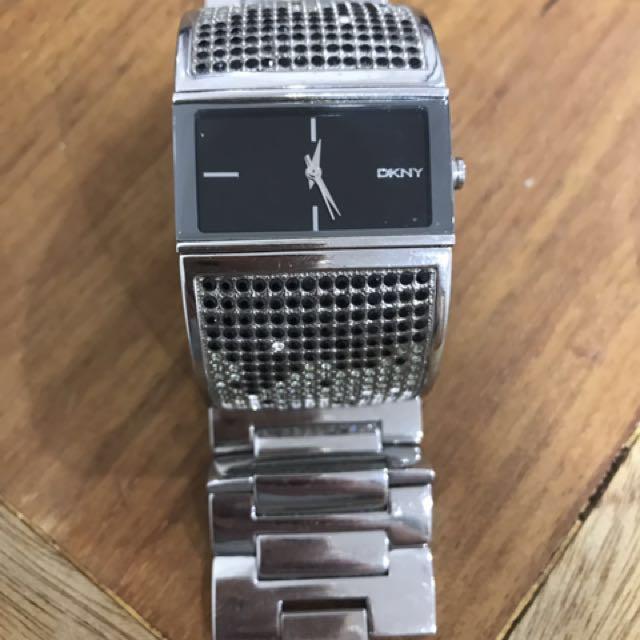 DKNY Swarovski Watch