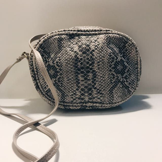 Double pocket Sling Purse