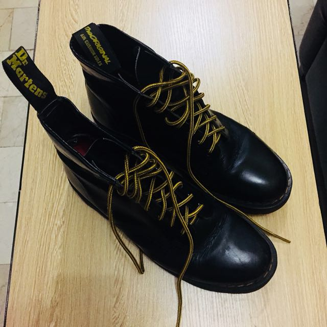 Dr. Martens Black 1460 Smooth Shoes