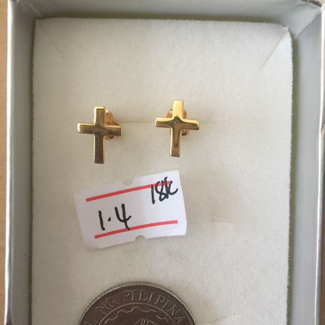 Earing 18kt gold