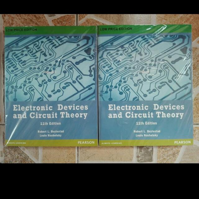 Electronics Devices And Circuit Theory