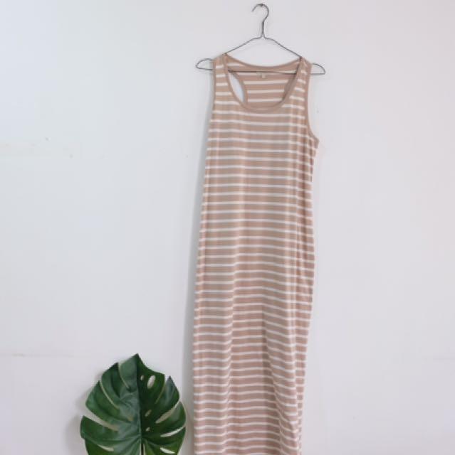 Et Cetera Striped Dress