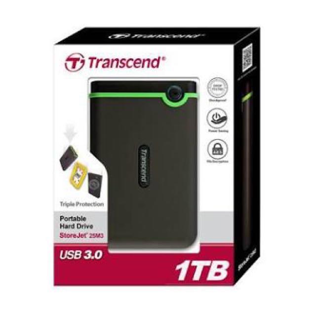 External Harddisk Transcend Storejet 25M3 1TB