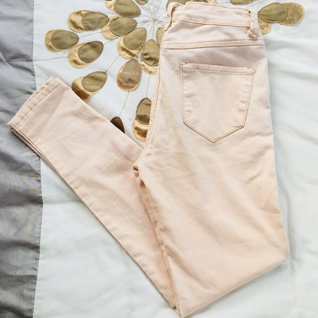 Faded pink - Skinny pants