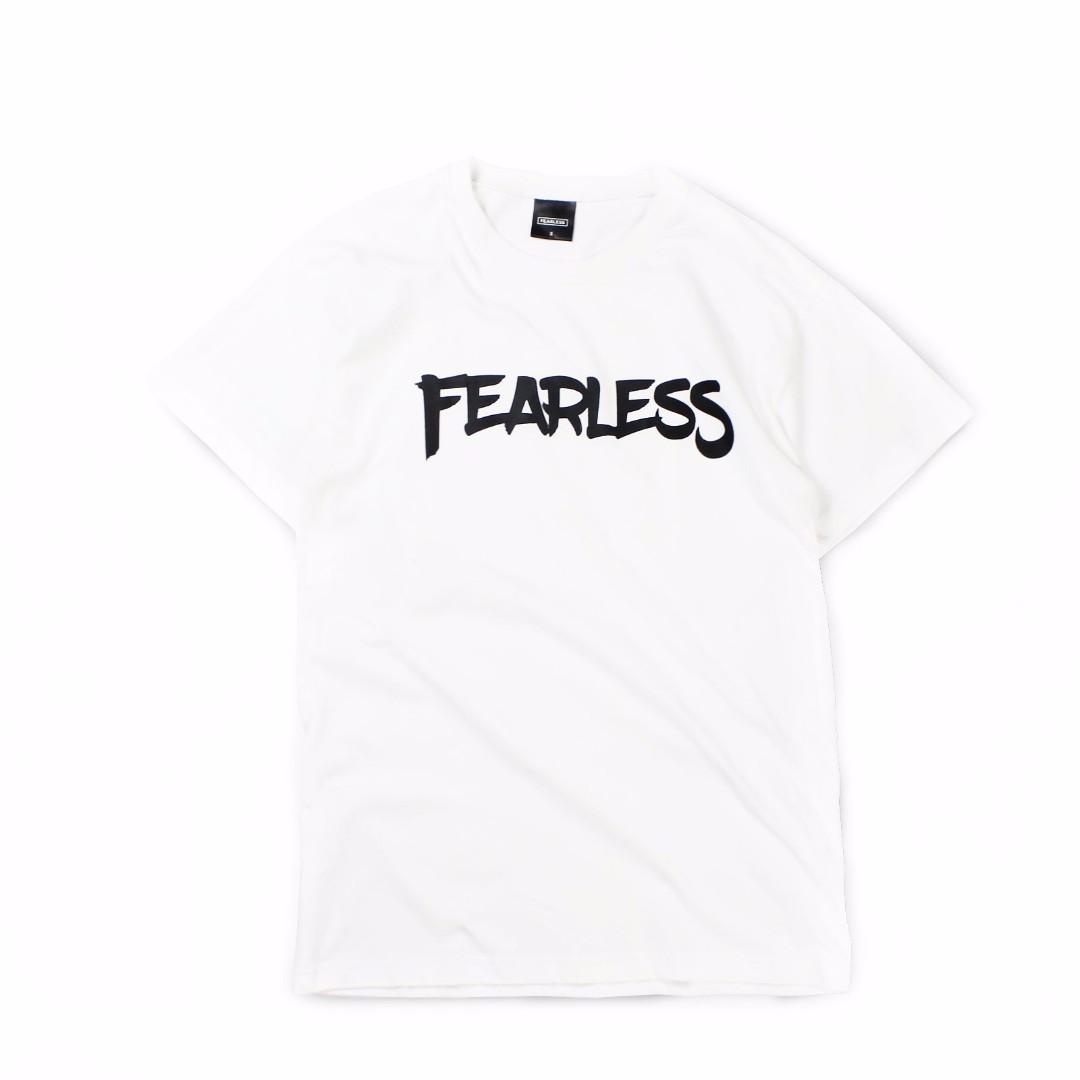 【限時七折】FEARLESS CLASSIC LOGO TEE 三週年限定 短袖 短TEE 白色