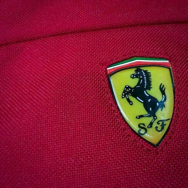 Ferrari Scuderia Messenger Bag (Red)