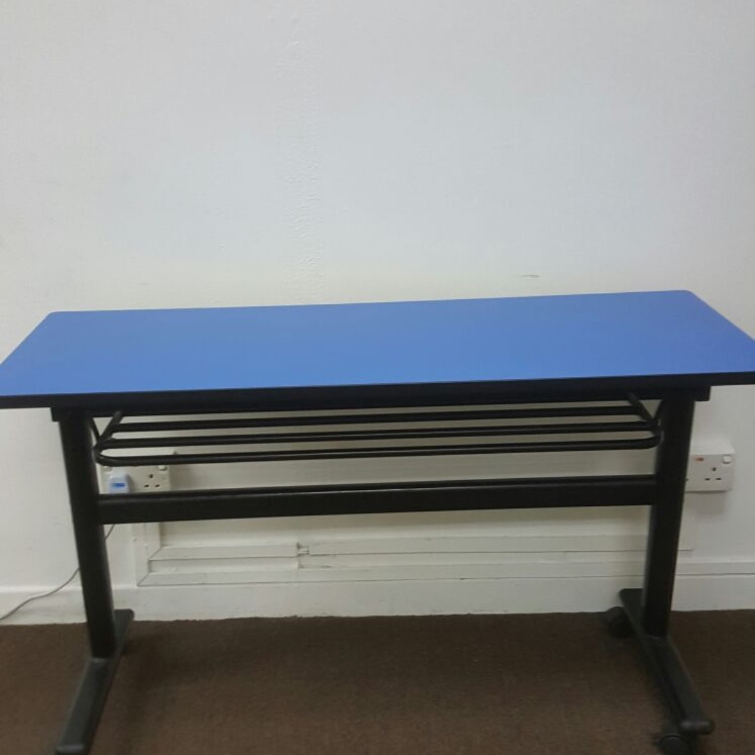 Foldable Training Table Home Furniture Furniture Tables - Foldable training table