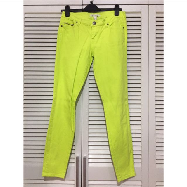 Forever 21 Neon Green Pants S30