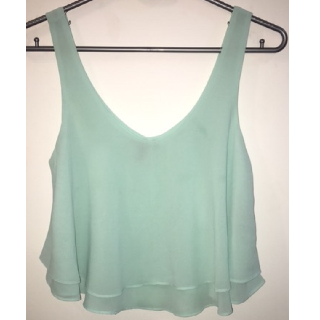 734af3ef1fbe2 Forever 21 Sleeveless Top
